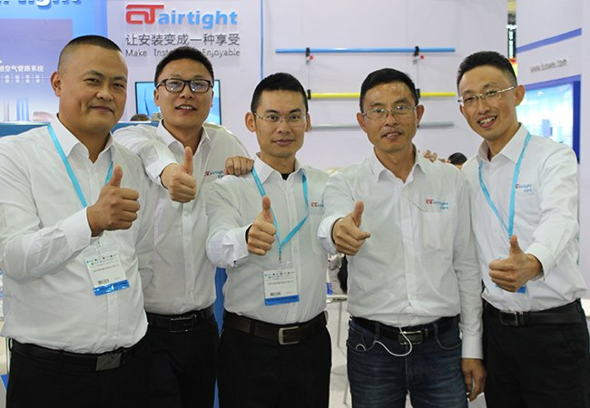 Airtight exhibition